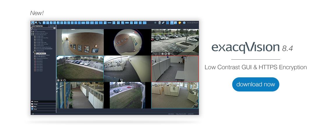 exacqVision 8.4