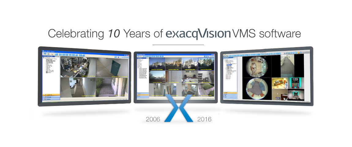 exacqVision image introducing direct archive search and camera connection diagnostics