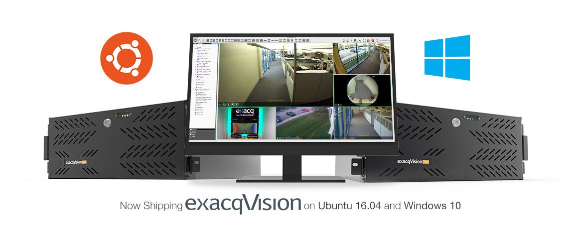 exacqVision Ubuntu 16.04